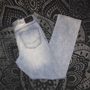 Bullethead Slim 33x32 light wash jeans
